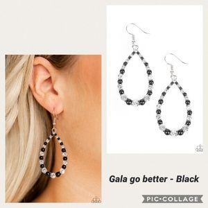 Gala Go Better Black Earring